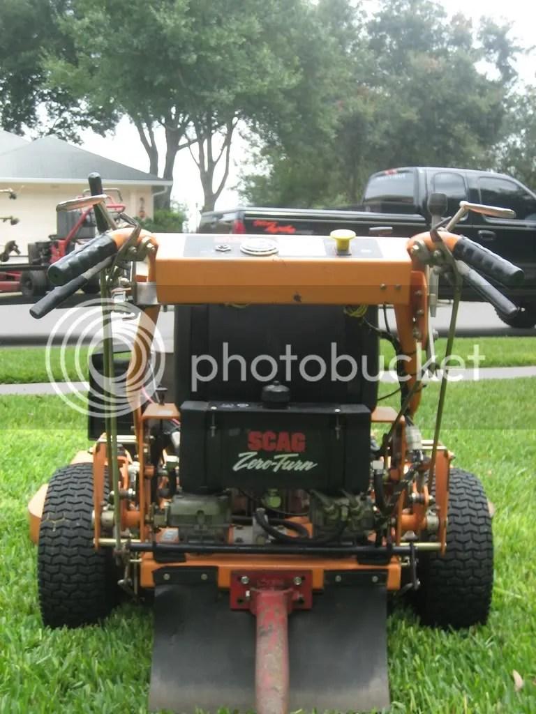 2003 Scag 52 21 Hydro W B Advantage Deck Lawnsite