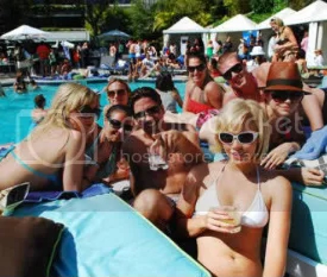 Djs Spinning Throughout The Day Hot And Sexy People All Around Great Tiki Bar Swimming Pool And Beautiful Sunshine What More Can You Ask For