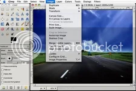 GIMP 2.4 MAC OS X