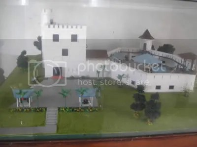 Just a small model of the fort