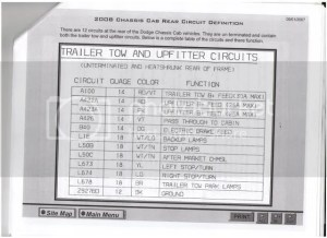 Trailer Wiring  Dodge Diesel  Diesel Truck Resource Forums