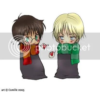 Harry elsker Draco