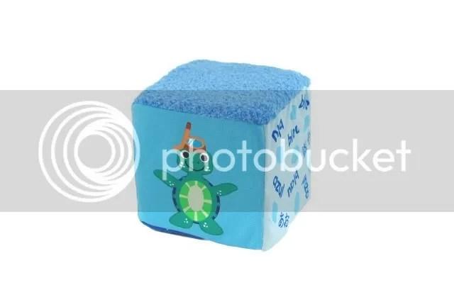 Baby Einstein blue baby block