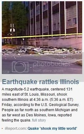 CNN earthquake article screenshot