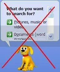 Window's Search function