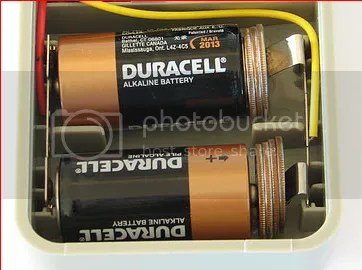 Turn C into D batteries