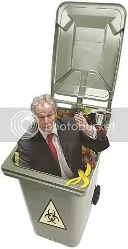 In de bin