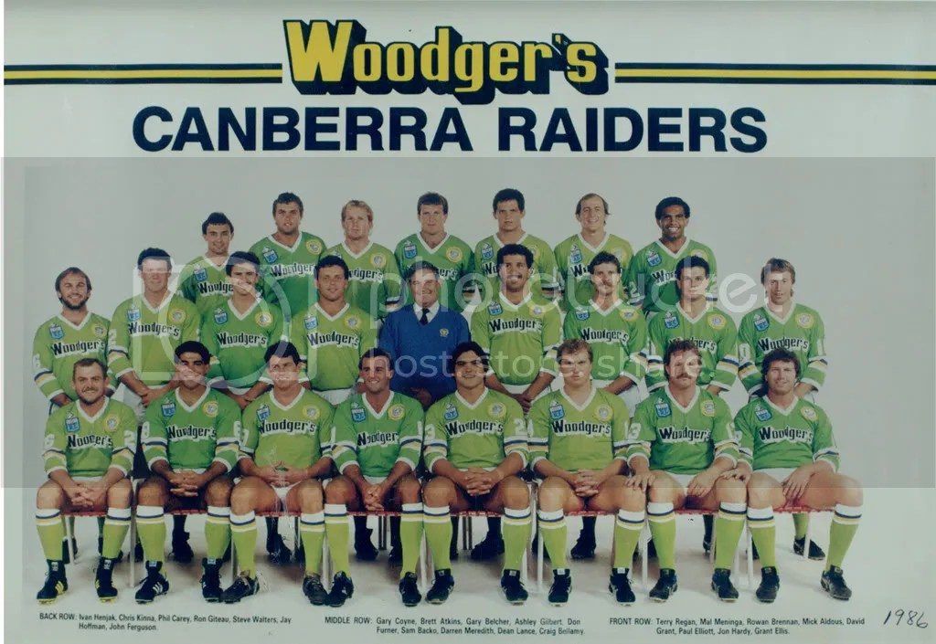 Image result for canberra raiders 1987