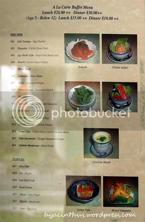 Akira japanese restaurant at link hotel hya cinthus for Akira japanese cuisine