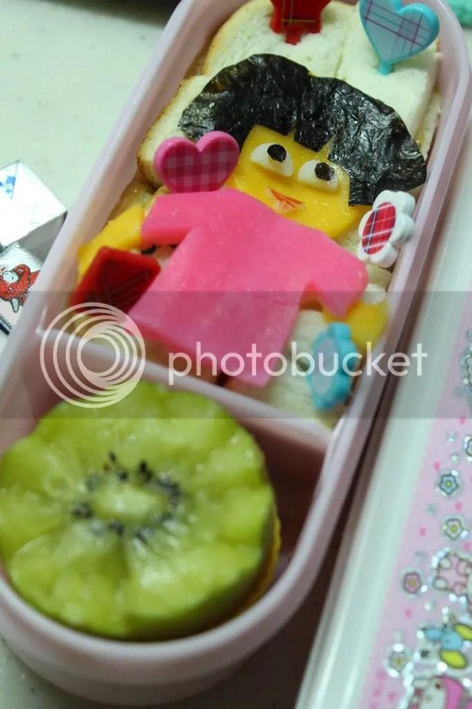 Dora Wannabe Bento