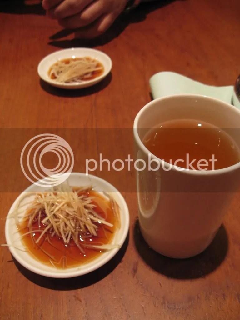 Tea and Ginger+Vinegar