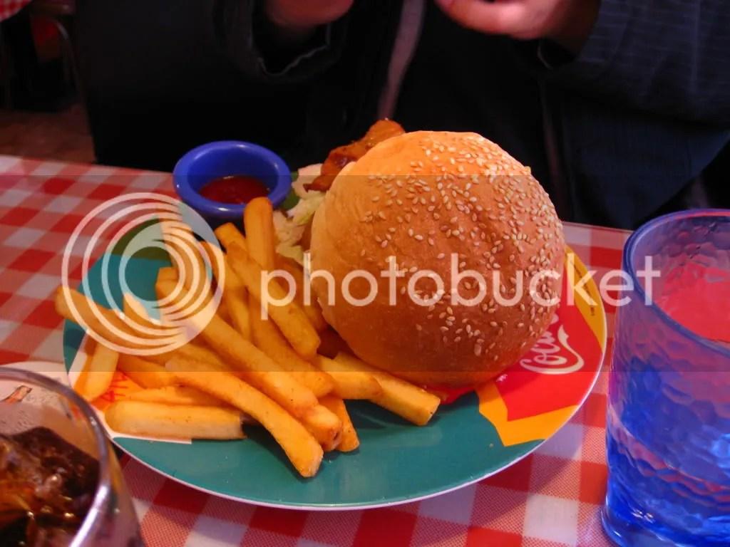 Wings jumbo burger~