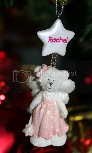 Rachel Christmas Tree Decoration
