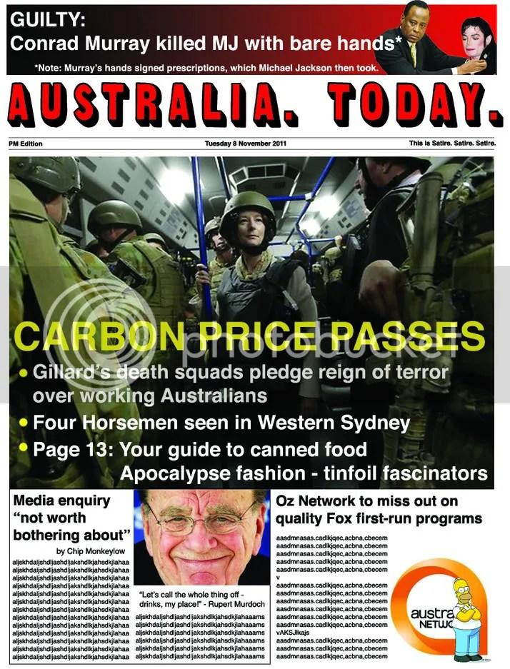 Tuesday 8 November 2011