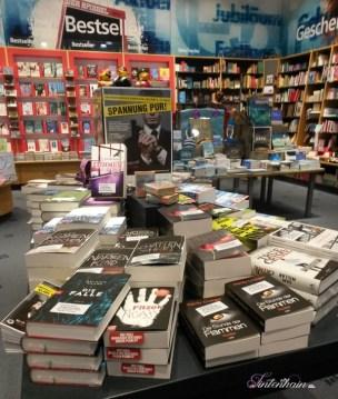 Büchertisch Krimifestival