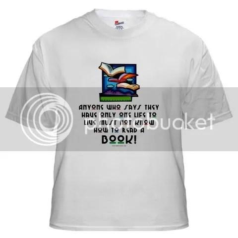 Anyone who says... White T-Shirt