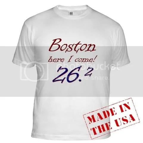 Boston Here I Come! Fitted T-Shirt