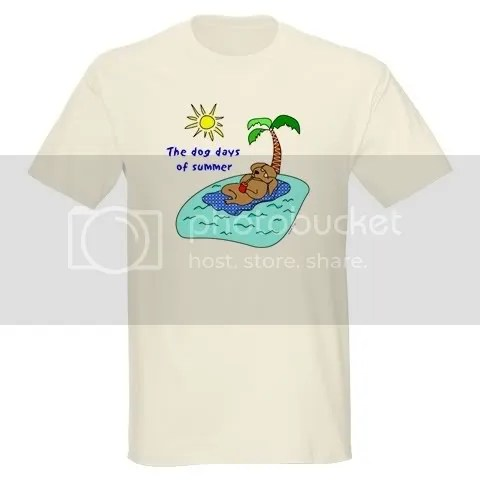 Dog Days of Summer Light T-Shirt