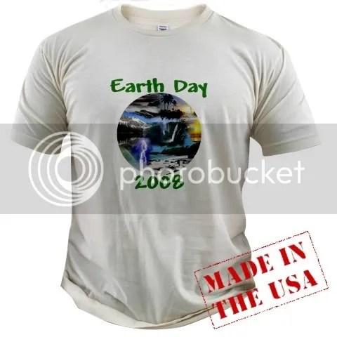 Earth Day 2008 Organic Cotton Tee
