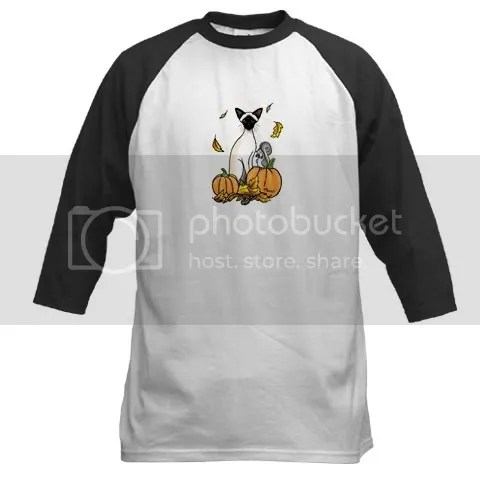Fall Siamese (Chocolate) Baseball Jersey