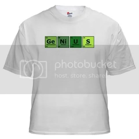 Genius White T-Shirt