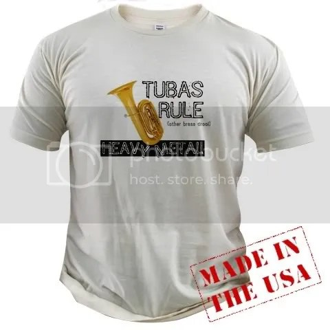 Tubas Rule Fitted T-Shirt
