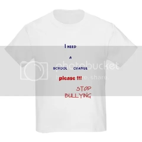 school change,stop bullying Kids Light T-Shirt