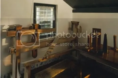 The Rijnsburg Wood-turners Lathe, another angle