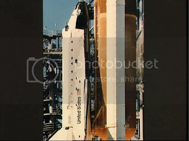 Space Challenger Lift Off