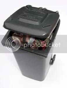 Full Garbage Bin
