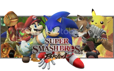 Super Smash Bros. Brawl!!!