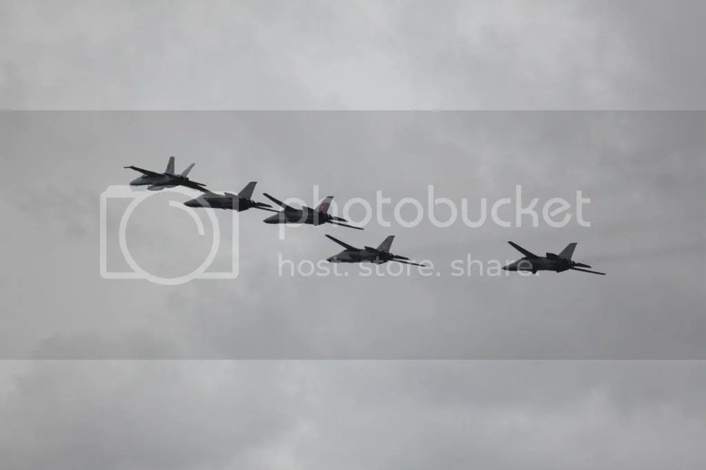 Retirement and farewell to the RAAF F-111 fleet – Dec 2010