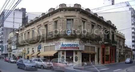 Esquina de Mitre y Mendoza, Rosario