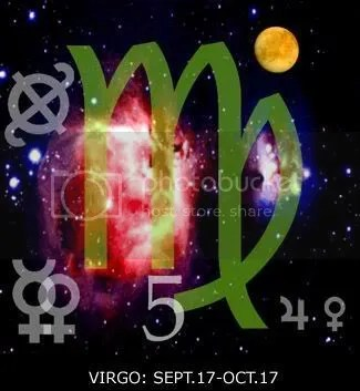Sidereal Virgo Glyph Large Copyright ABE: