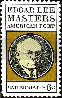 Edgar Lee Masters US stamp