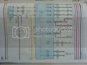 1UZ Wiring diagram for CelsiorLS400