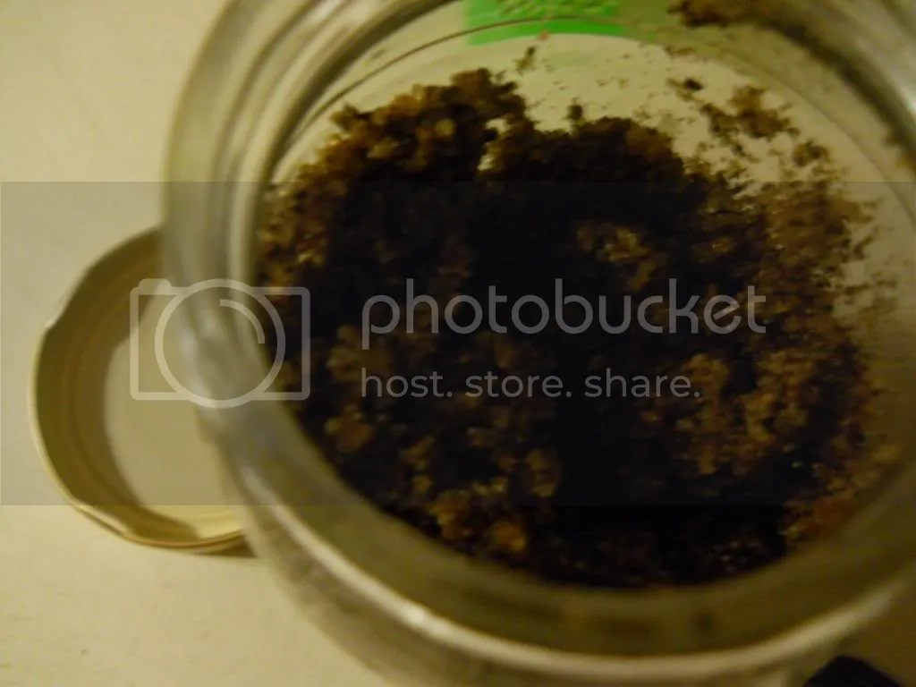 Inside the Jar of Mud Scrub