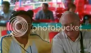 Zamzami A. Karim & Prof Emerson at Penyengat Island