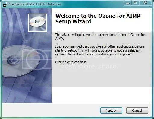 AIMP2 iZotope Ozone instalasi