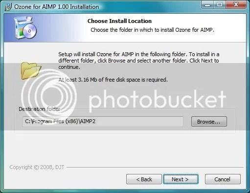 AIMP2 iZotope Ozone instalasi2