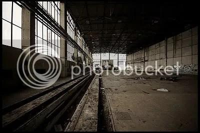 RAW Potsdam verlassen abandoned