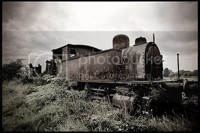 steam train locomotive graveyard