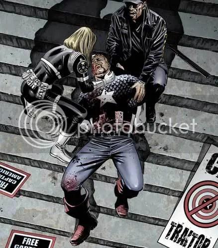 Capitán América asesinado
