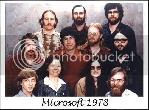 Fundadores Microsoft 1978