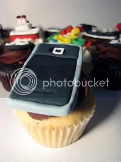 iPod cupcake