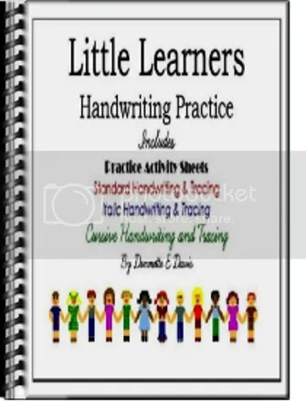 Little Learners Handwriting Practice Cover GIFT Cover