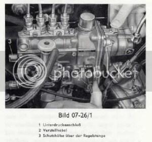 PeachParts MercedesBenz Forum  1974 240d W115 throttle question