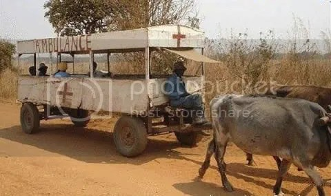 Ambulância de pobre