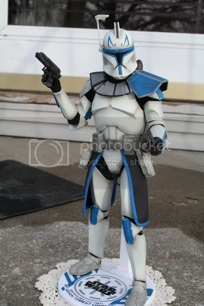 Sideshow Collectibles Star Wars Clone Wars Captain Rex Review (5/6)