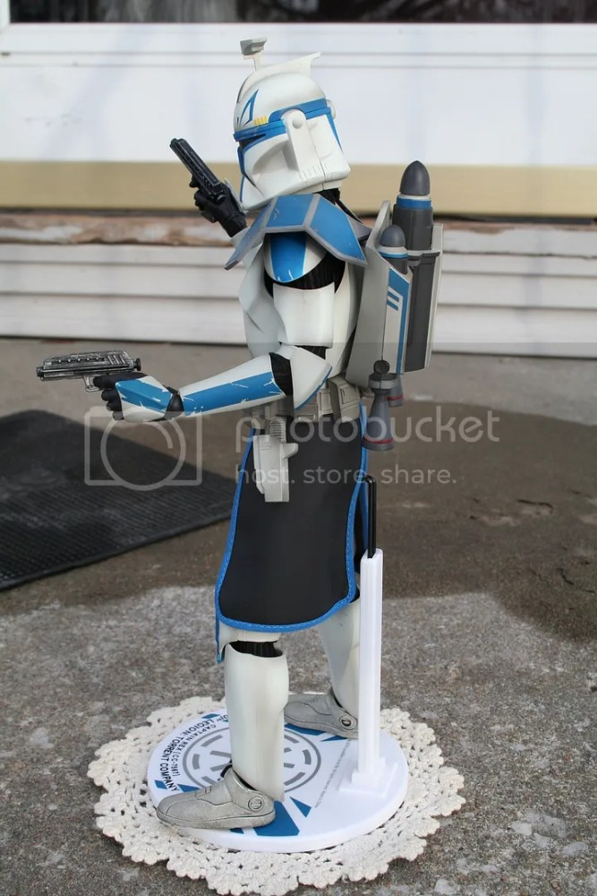 Sideshow Collectibles Star Wars Clone Wars Captain Rex Review (6/6)